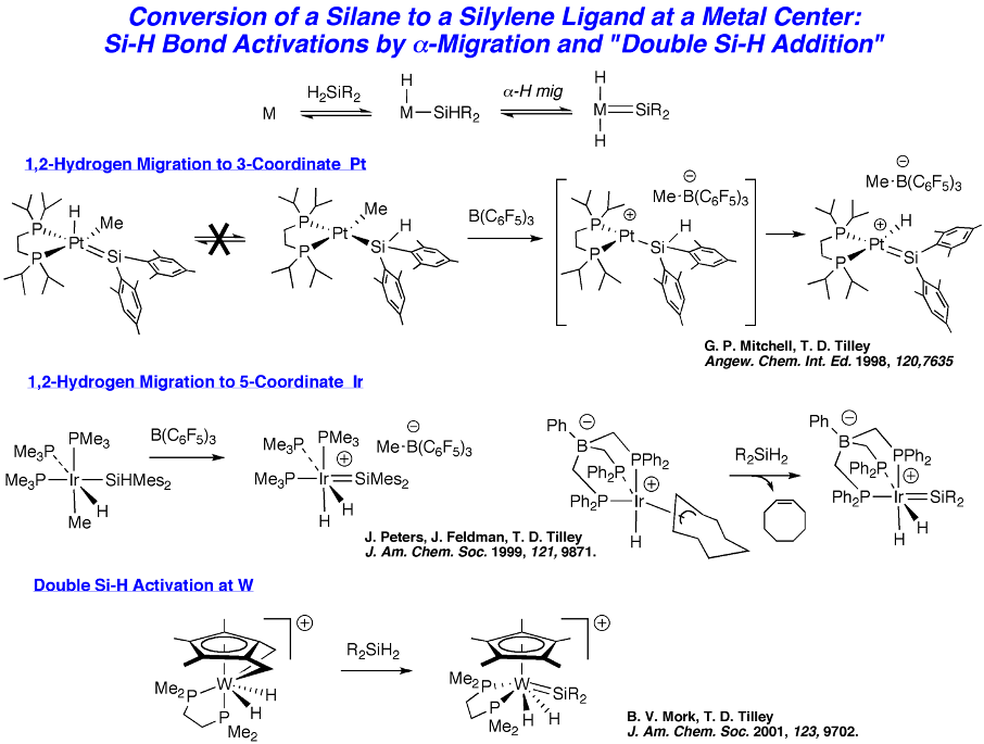 sigma bond metathesis reaction In organometallic chemistry , sigma-bond metathesis is a chemical reaction amoroso, jon william (2014) reactive probes for manipulating polyketide synthases, and.